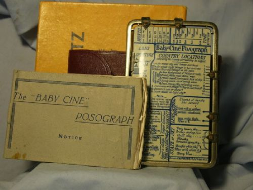 '         Baby Cine Posograph Cased + Inst -VERY RARE-MUSEUM QUALITY-' Baby Posograph Cased  £149.99